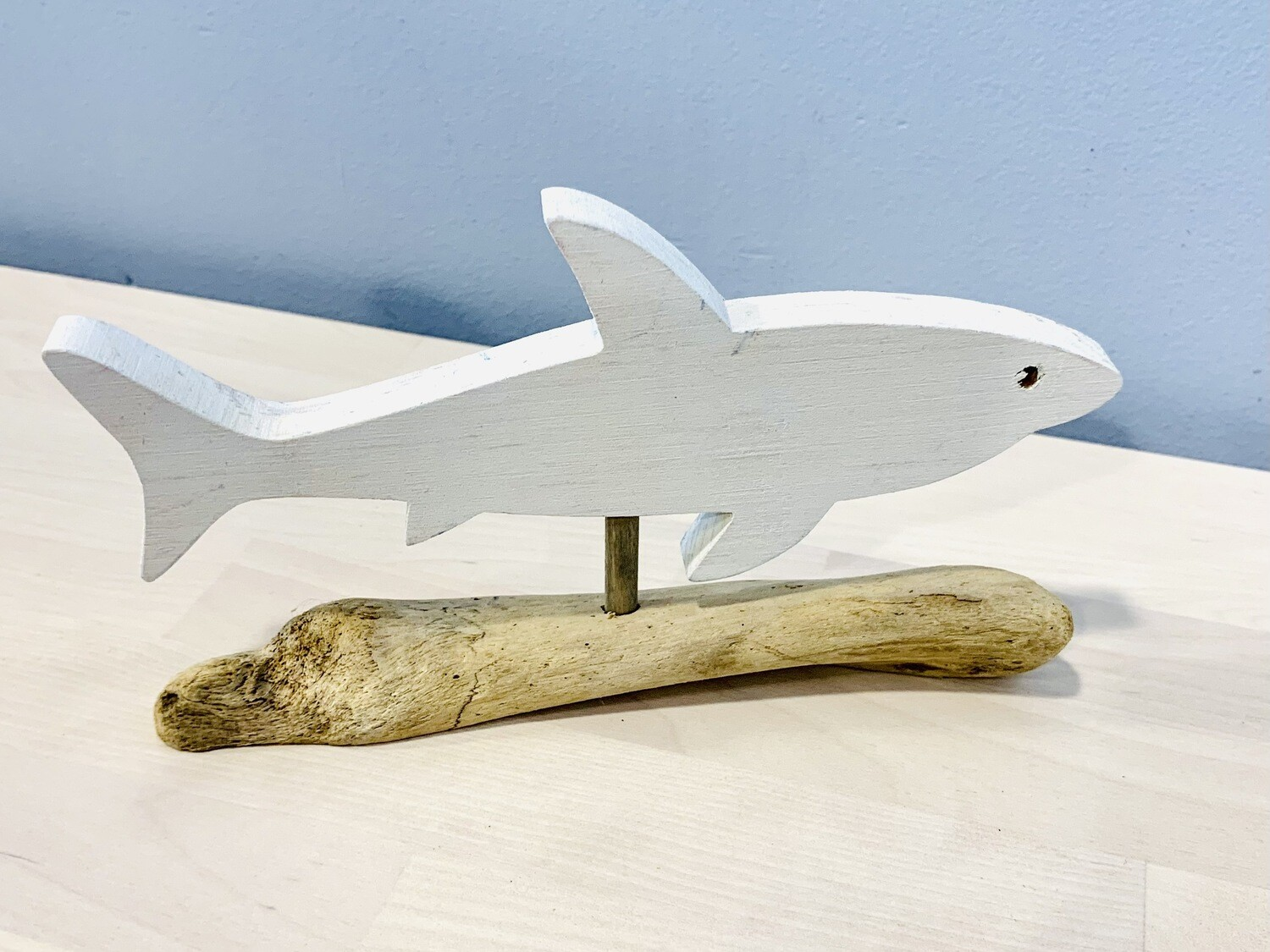 White/Natural Shark - Jerry Walsh