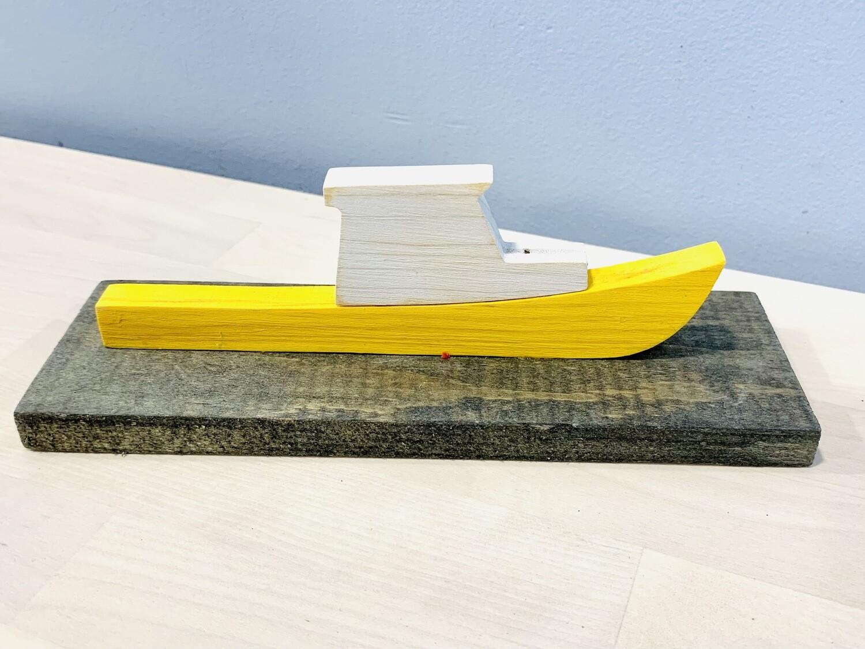 Yellow Fishing Boat - Jerry Walsh