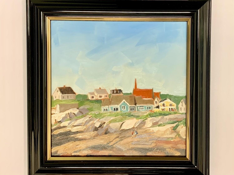 Peggys Cove Village 6x6