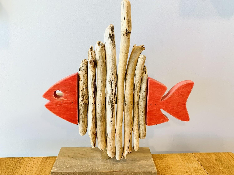 Red Skeleton Fish - Jerry Walsh
