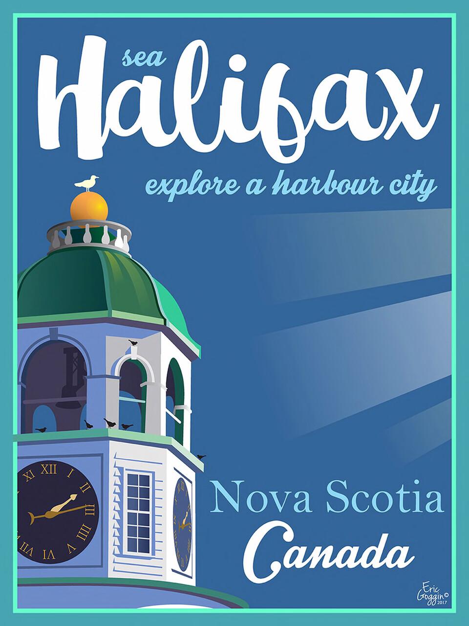 Sea Halifax 8x10 - Destination Art