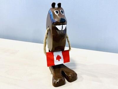 Canada Flag Beaver Timberdoodle