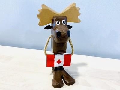 Canada Flag Moose Timberdoodle