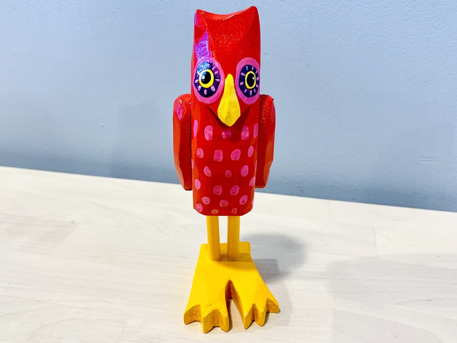 Red Small Owl Timberdoodle