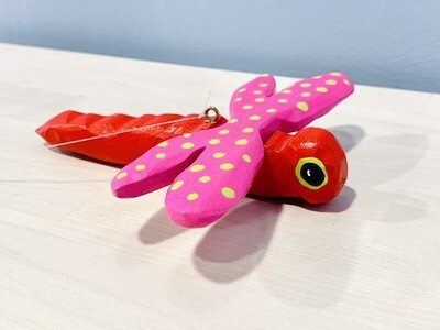 Red Dragonfly Timberdoodle