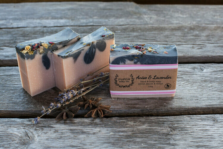 Anise and Lavender - Rustik Soap