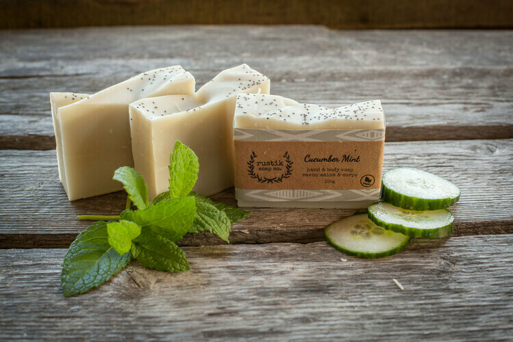 Cucumber Mint - Rustik Soap