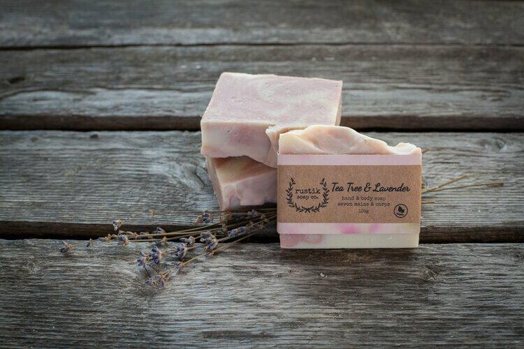 Tea Tree Lavender - Rustik Soap