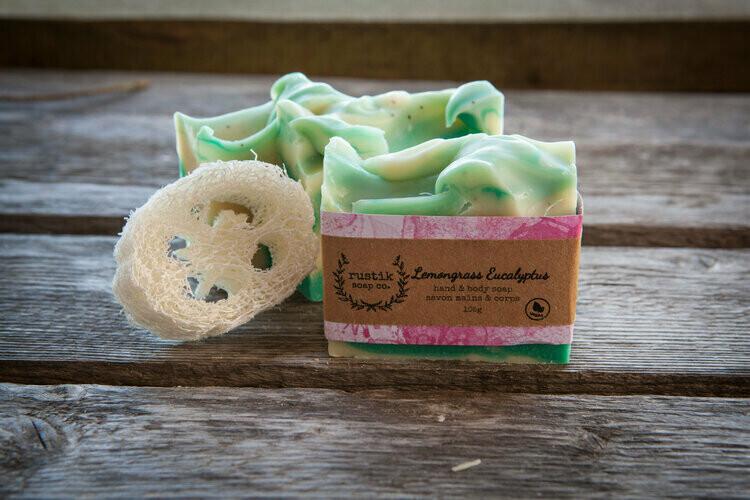 Lemongrass Eucalyptus Soap - Rustik Soap