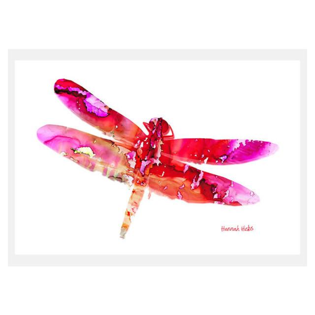Dragonfly Card - Hannah Hicks