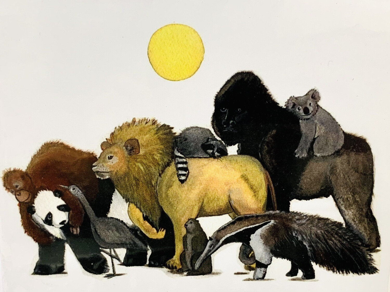 Animal Friends Card - Sarah Duggan