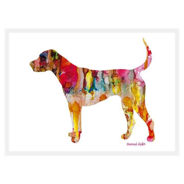 Dog Card - Hannah Hicks