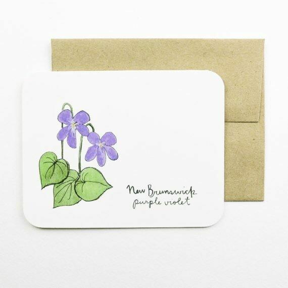 New Brunswick, Purple Violet - Field Day Paper