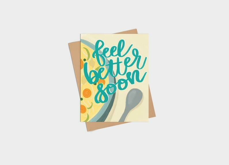 Feel Better Soon - Kim Roach Designs