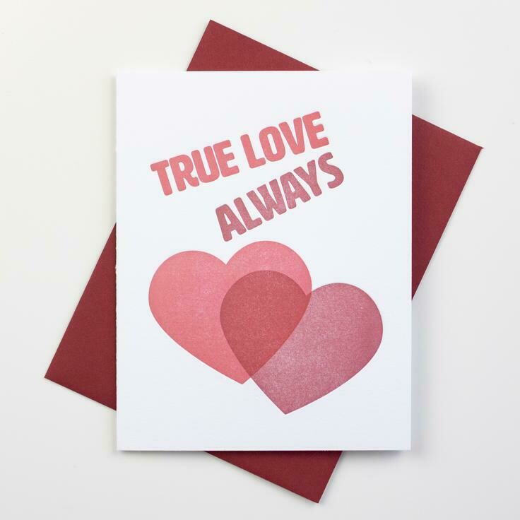 True Love Always Card - Inkwell Originals