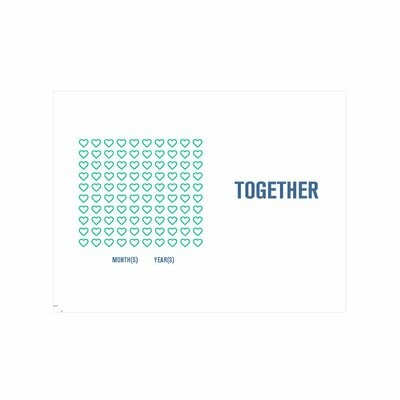 Together Anniversary Card - Miss Brenna