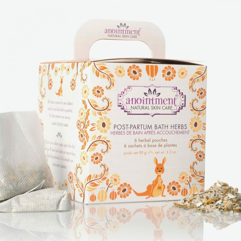 Postpartum Bath Herbs - Anointment