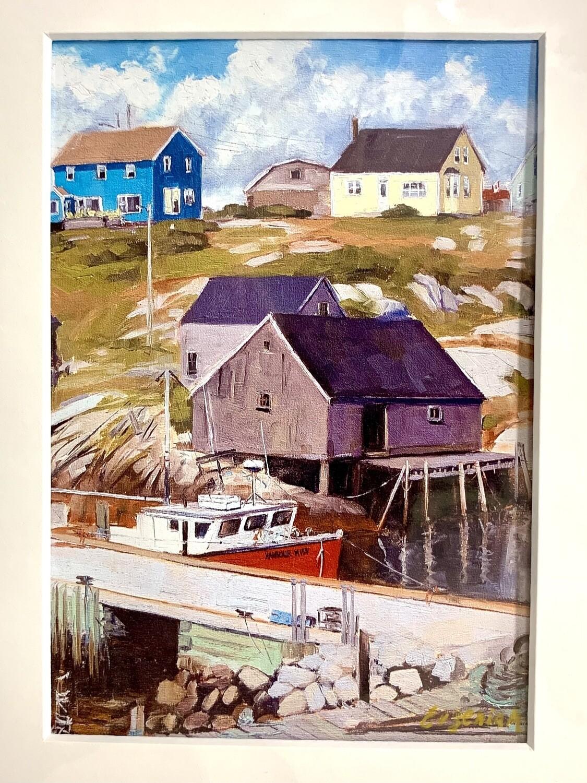 Peggy's Cove Houses - Evgenia Makogon
