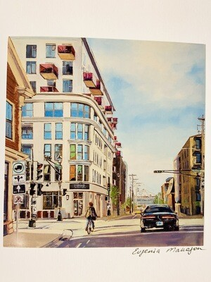 Hollis Street Card - Evgenia Makogon