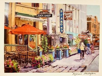 Argyle Street Card - Evgenia Makogon