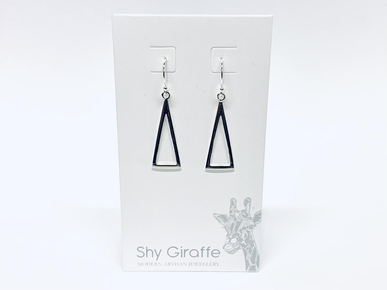 Triangle Drop Earrings - Shy Giraffe