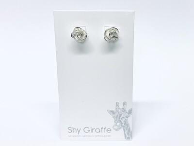Rose Stud Earrings - Shy Giraffe