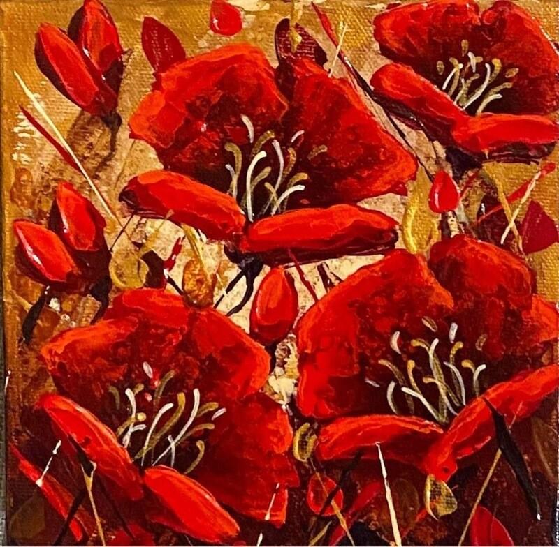 Golden Poppies - Love