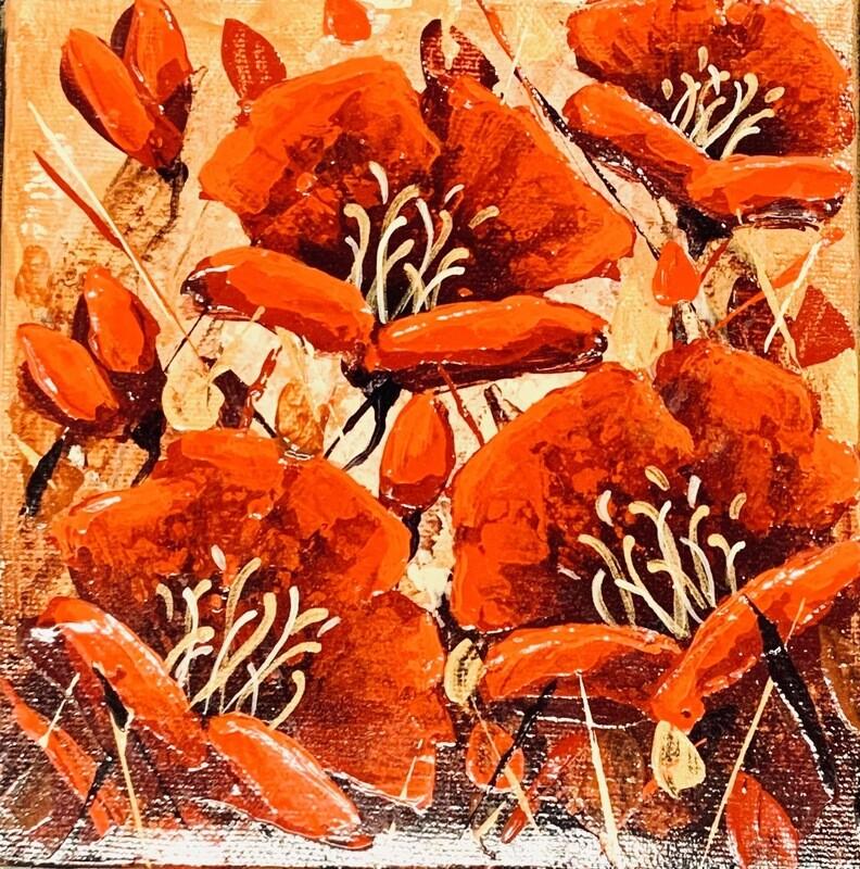 Golden Poppies - Adoration