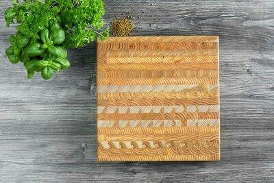 Square Cutting Board Larch