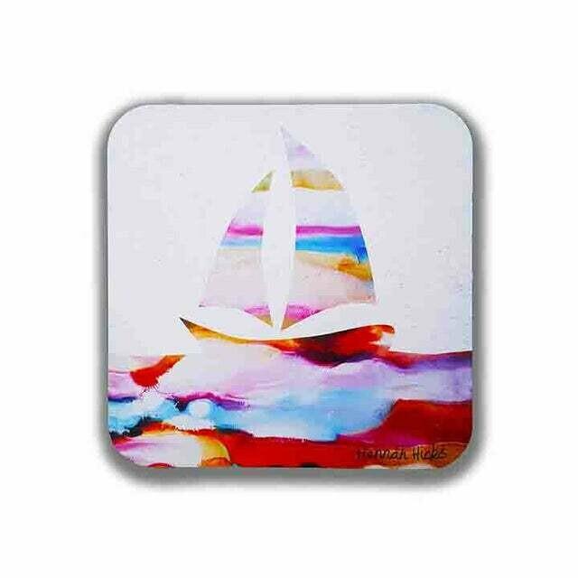 Sailboat Coaster Set - Hannah Hicks