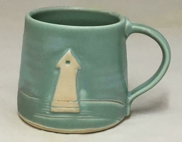 Aqua Lighthouse Mug GA