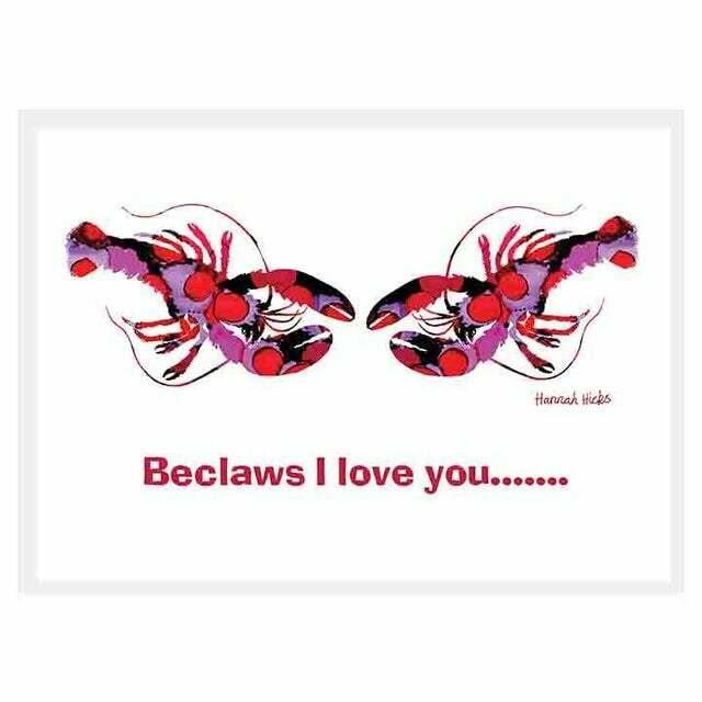 BeClaws I Love You Card - Hannah Hicks