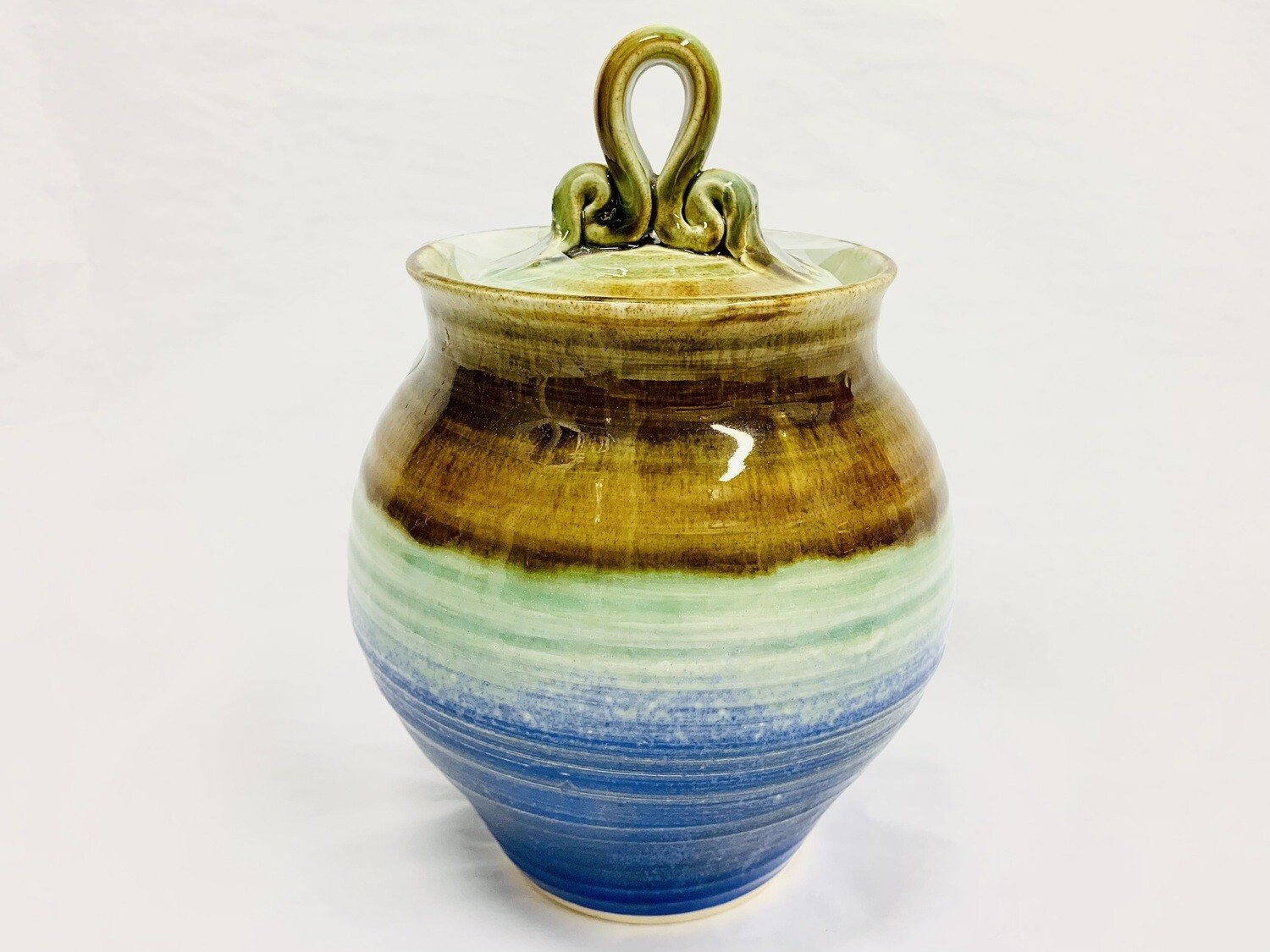Gloria Dunbar Medium Covered Jar
