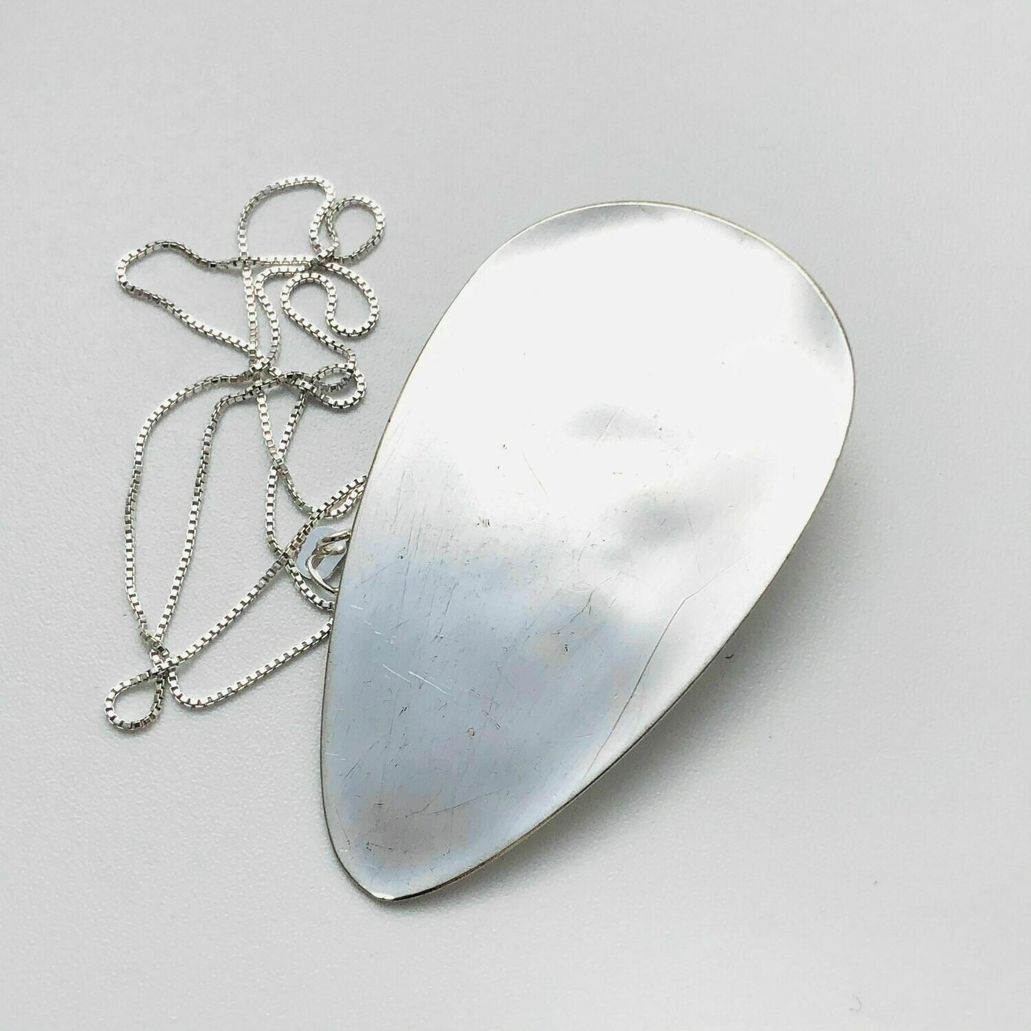 Floating Spoon Necklace - D
