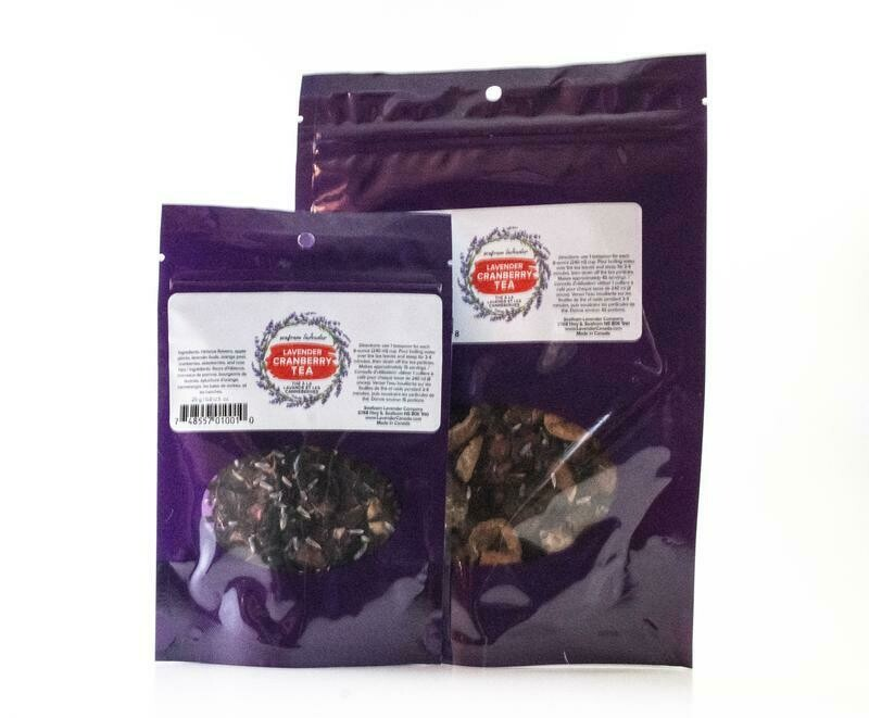 Cranberry Lavender Tea, Small