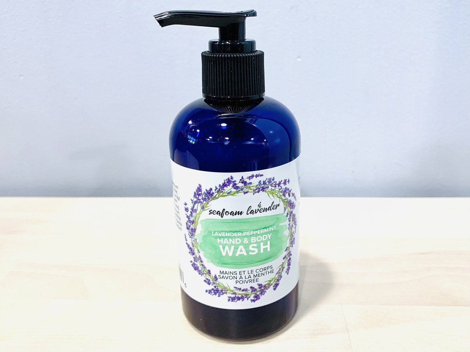 Lavender & Peppermint Hand & Body Wash, Large
