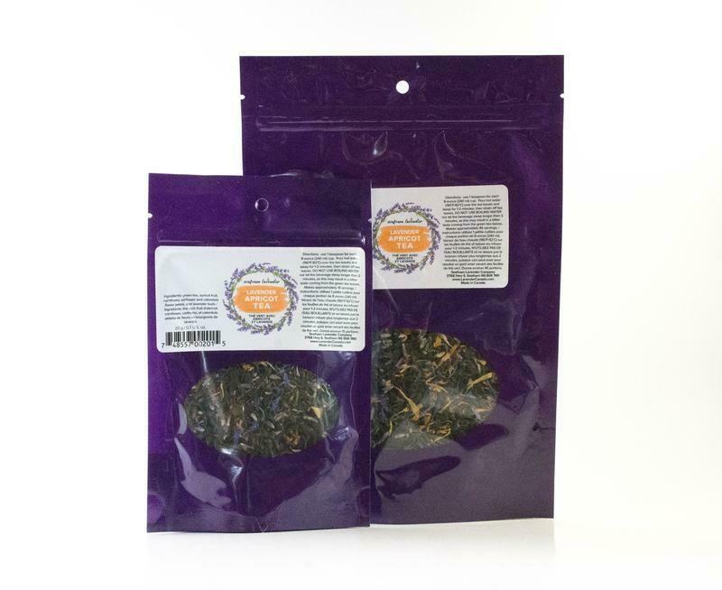 Apricot Lavender Tea, Small