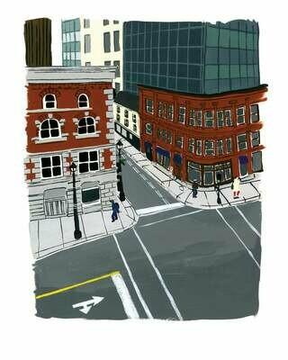 Kat Frick Miller Print - Duke Street