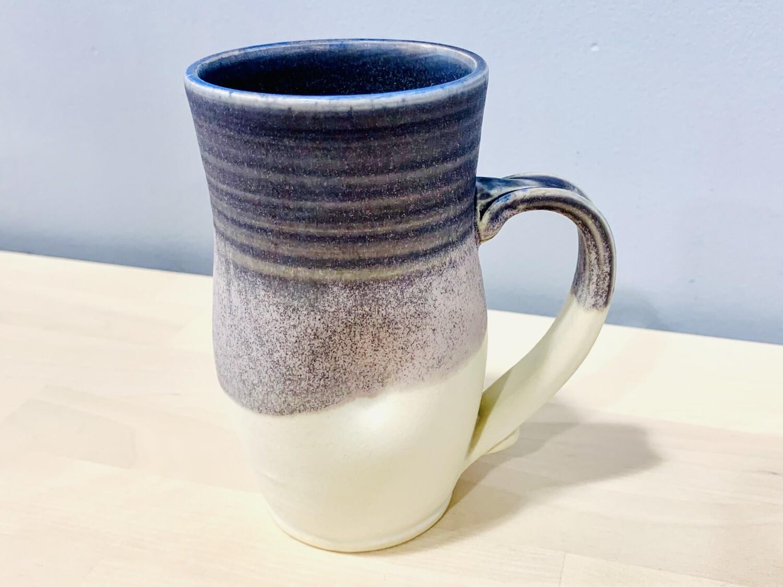 Purple & White Dimple Mug Redrocks Pottery