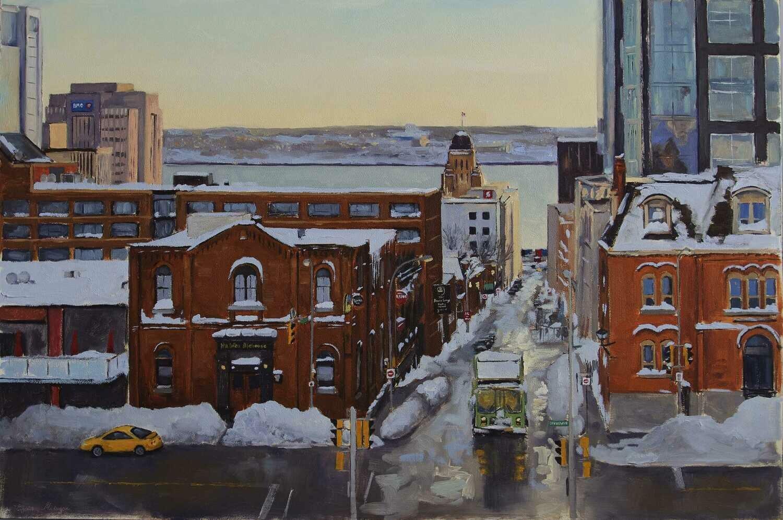 Winter Light Prince Street