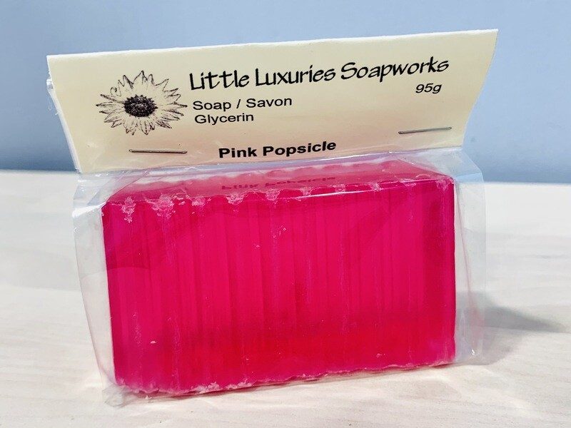 Pink Popsicle Soap
