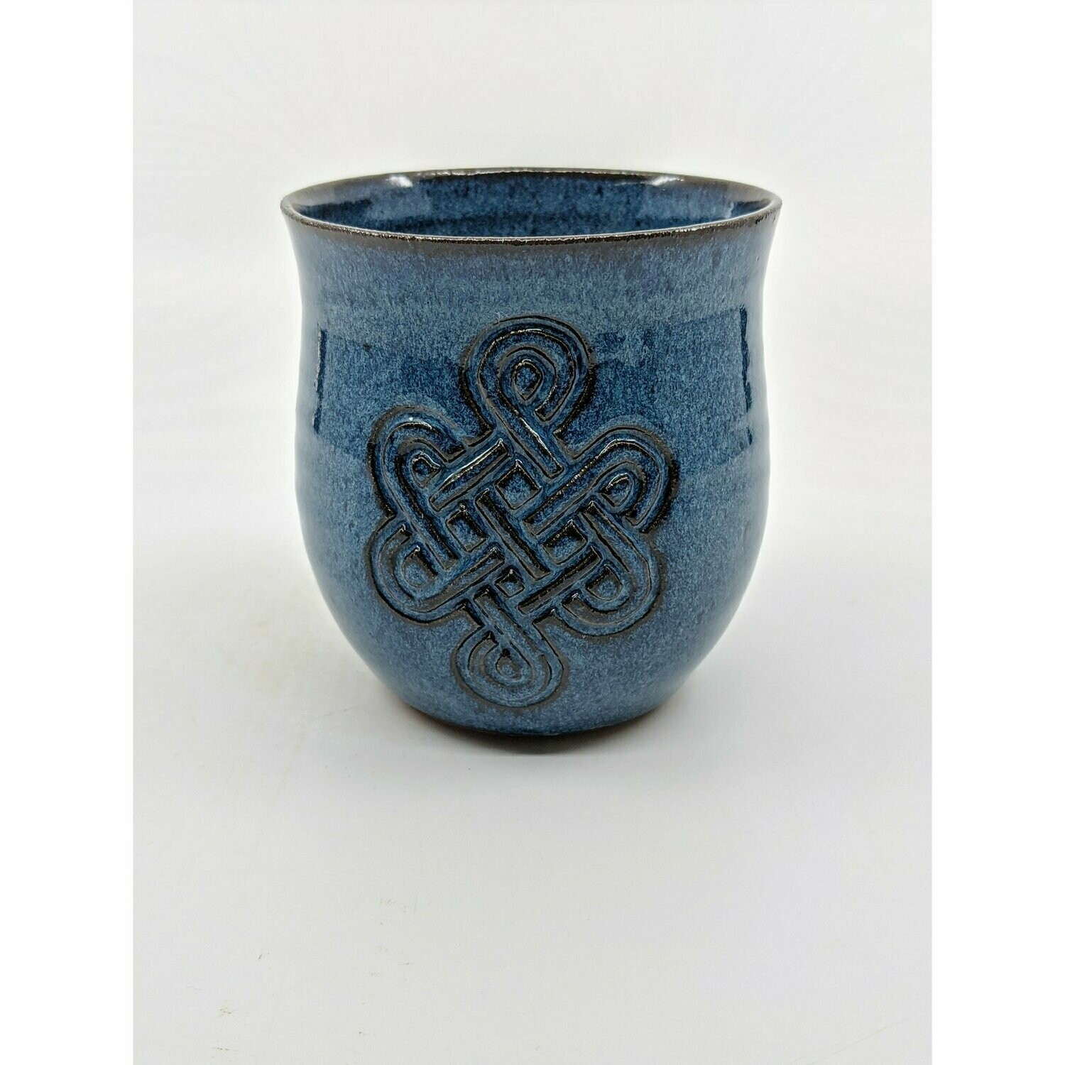 Celtic Blue Wine Cup