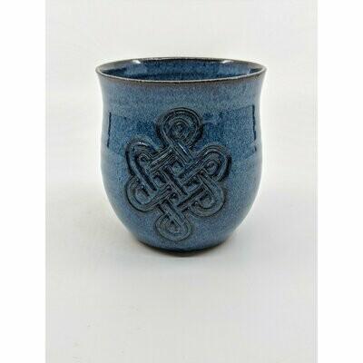 Celtic Blue Wine Cup
