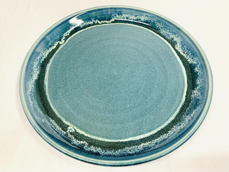 Seastar Blue Aurora Plate