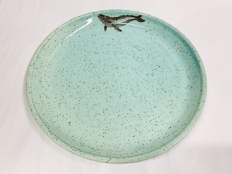 Seastar Whale Plate