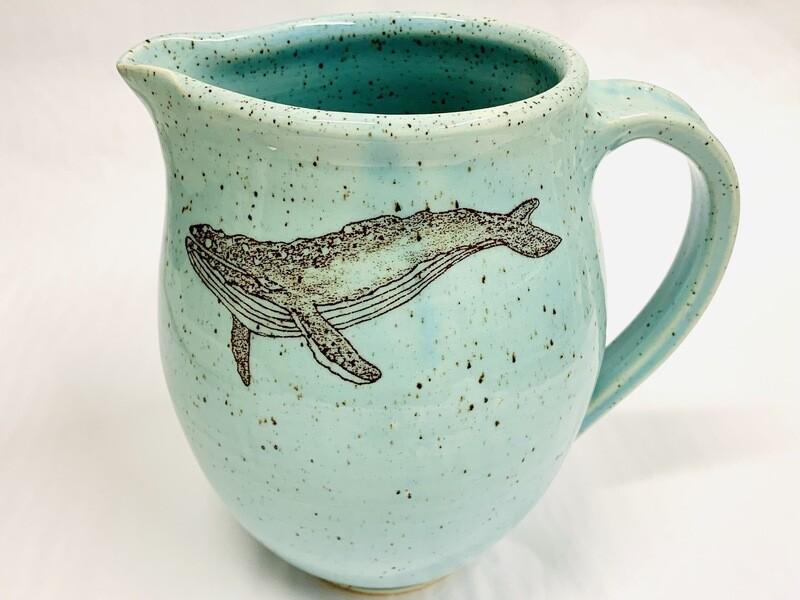 Seastar Whale Jug