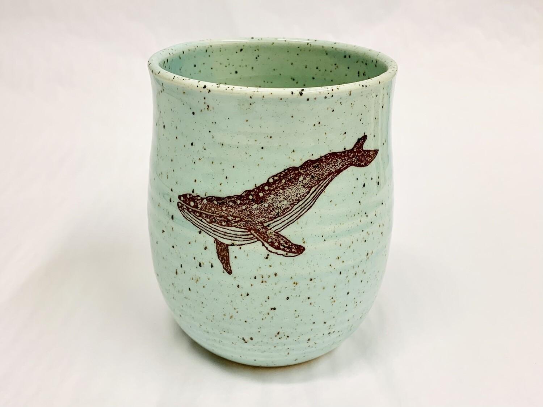 Seastar Whale Vase