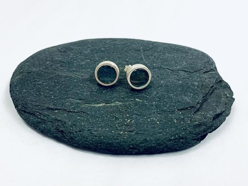 Labradorite Stud Earring - Allyson Simmie