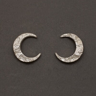 Crescent Moon Stud Earring - Allyson Simmie