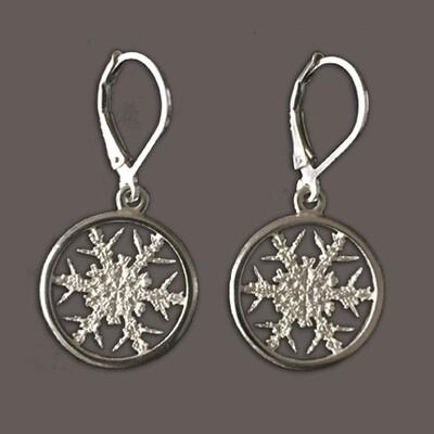 Snowflake Earring #2 - Allyson Simmie